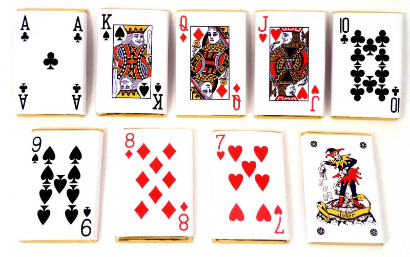 Chocolate Playing Cards