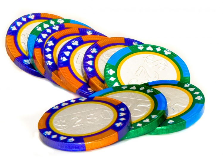 Chocolate Casino Chips-Custom