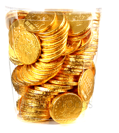 Chocolate Coins Custom
