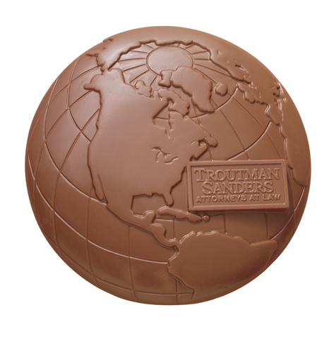 Chocolate Molded Design